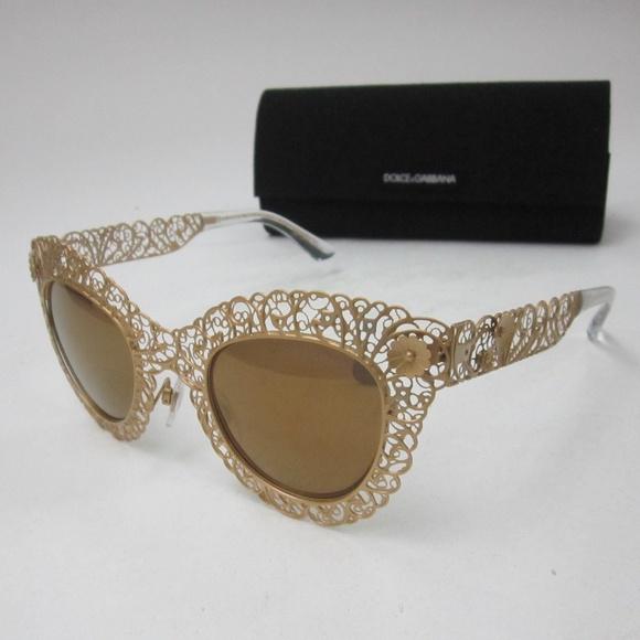 c78ce61ef48 Dolce   Gabbana Accessories - Dolce Gabbana DG 2134 02 F9 Sunglasses OLG545